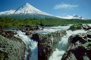 Osorno Volcano - Petrohue Waterfalls