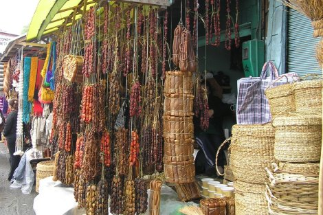 Market of Angelmo Puerto Montt, Chile.