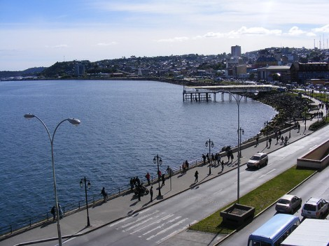 Around the seacoast Puerto Montt Chile
