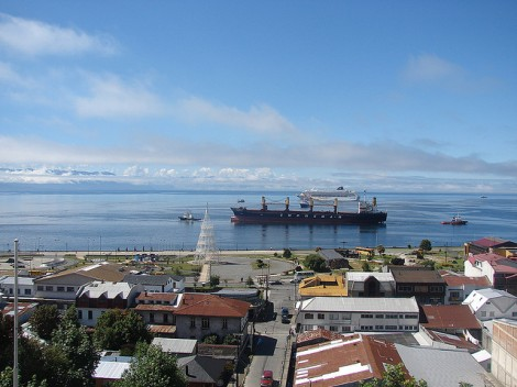 View of Puerto Montt Chile