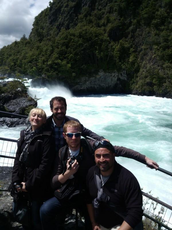 Petrohue falls Chile