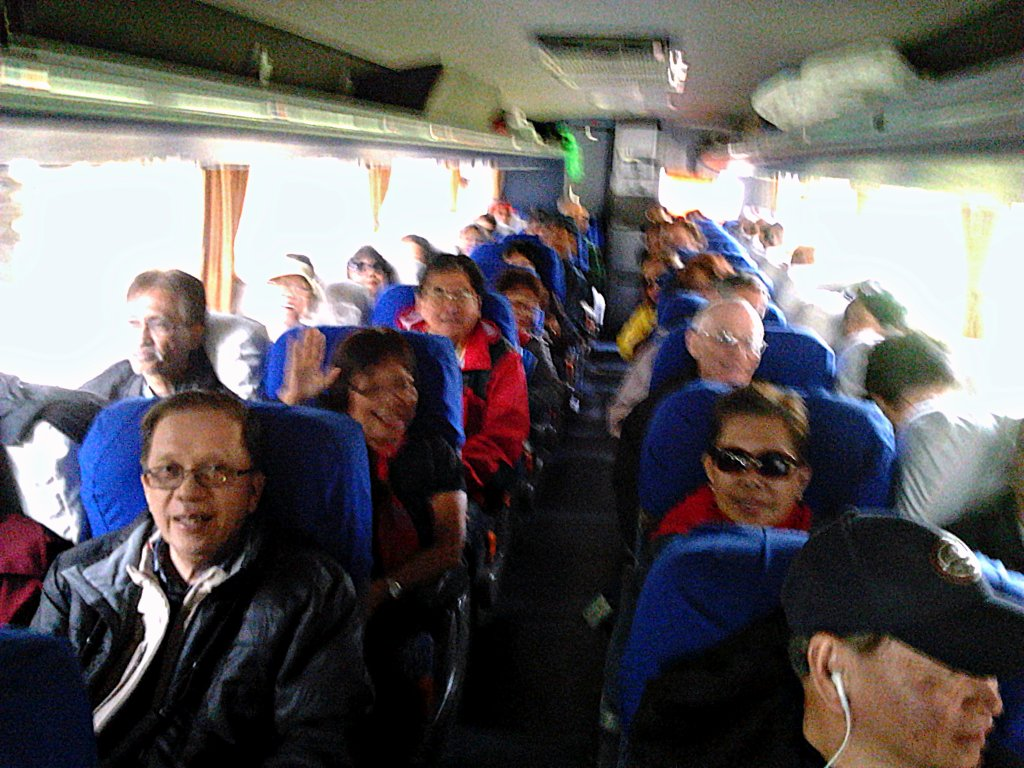Group of Travelers in Shore Excursion Chile