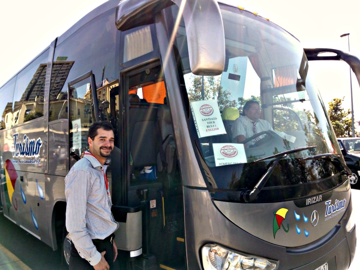 Best bus transportation Chile