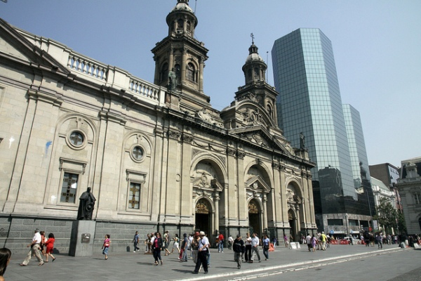 Catholic Cathedral Santiago Chile