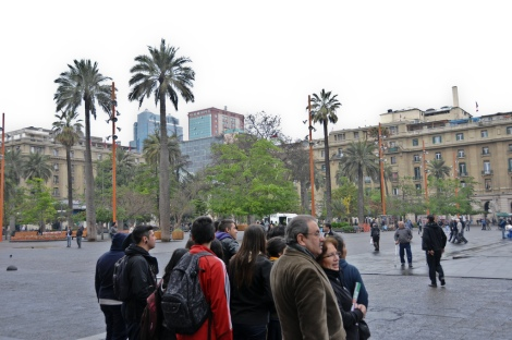 Plaza de Armas ---Main Square Santiago Chile