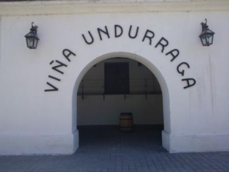Famous Undurraga vineyard near Santiago Chile Patagonia Southern Land Expeditions