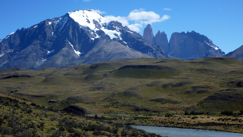 Amarga area Torres del Paine Chile