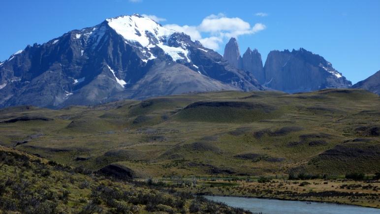 Amarga area Torres del Paine Chile