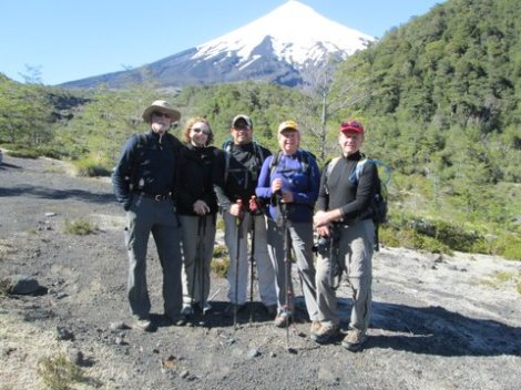 Trekking at Osorno Volcano Chile