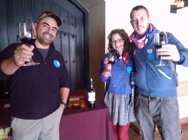 Wine tasting in Chile Patagonia Southern Land Expeditions