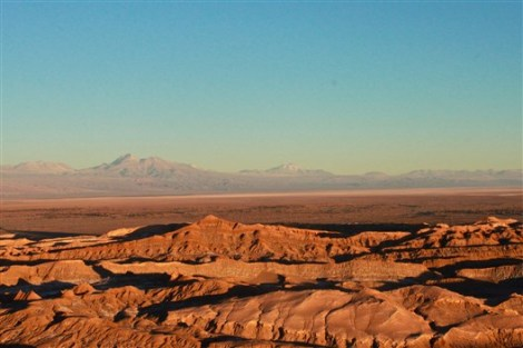 Salt Mountain Range Atacama Chile