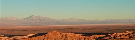 Salt Mountain Range Atacama Chile