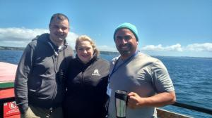 Ferry crossing to Chiloe, Chile