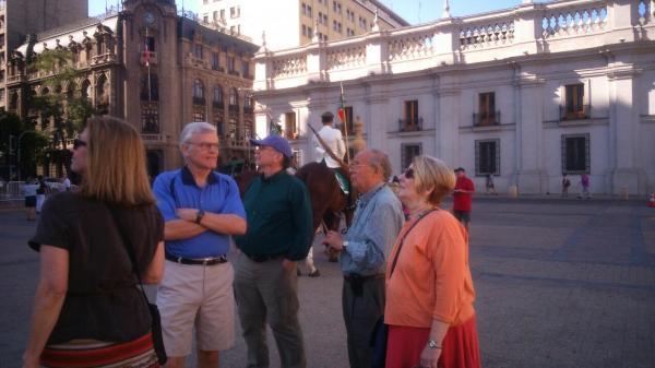 Plaza La Constitución Santiago, Chile