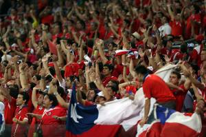 Futbol Copa America Chile