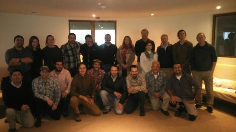 ATTA meeting participants Chile 2015