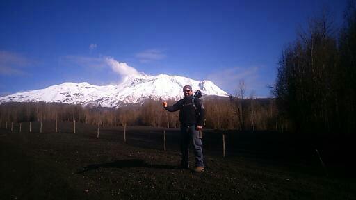 Active Calbuco Volcano