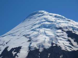 Osorno Volcano Snow slopes Chile