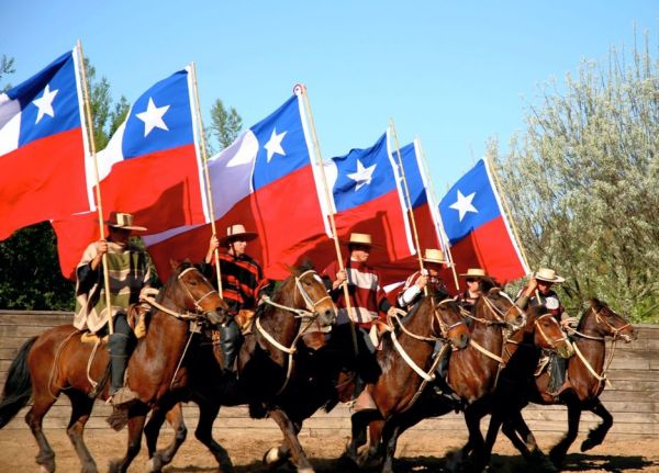 Huasos Chilean cowboys