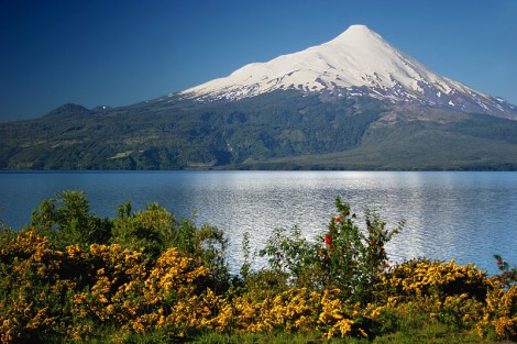 Llanquihue Lake, North Patagonia, Chile