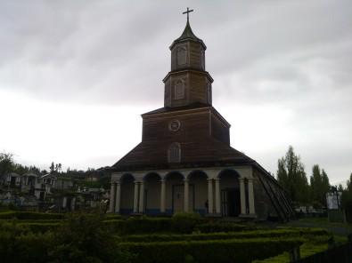 Nercon Heritage Church Chiloe Chile