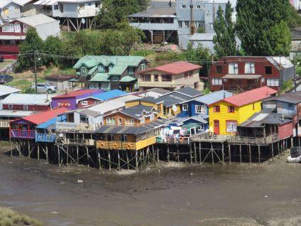 Castro Palafitos, Chiloe, Chile