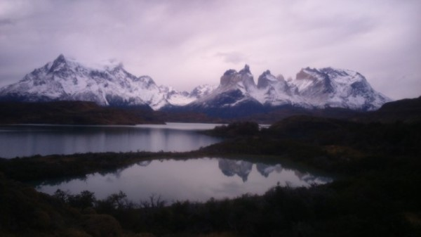 Torres del Paine at March