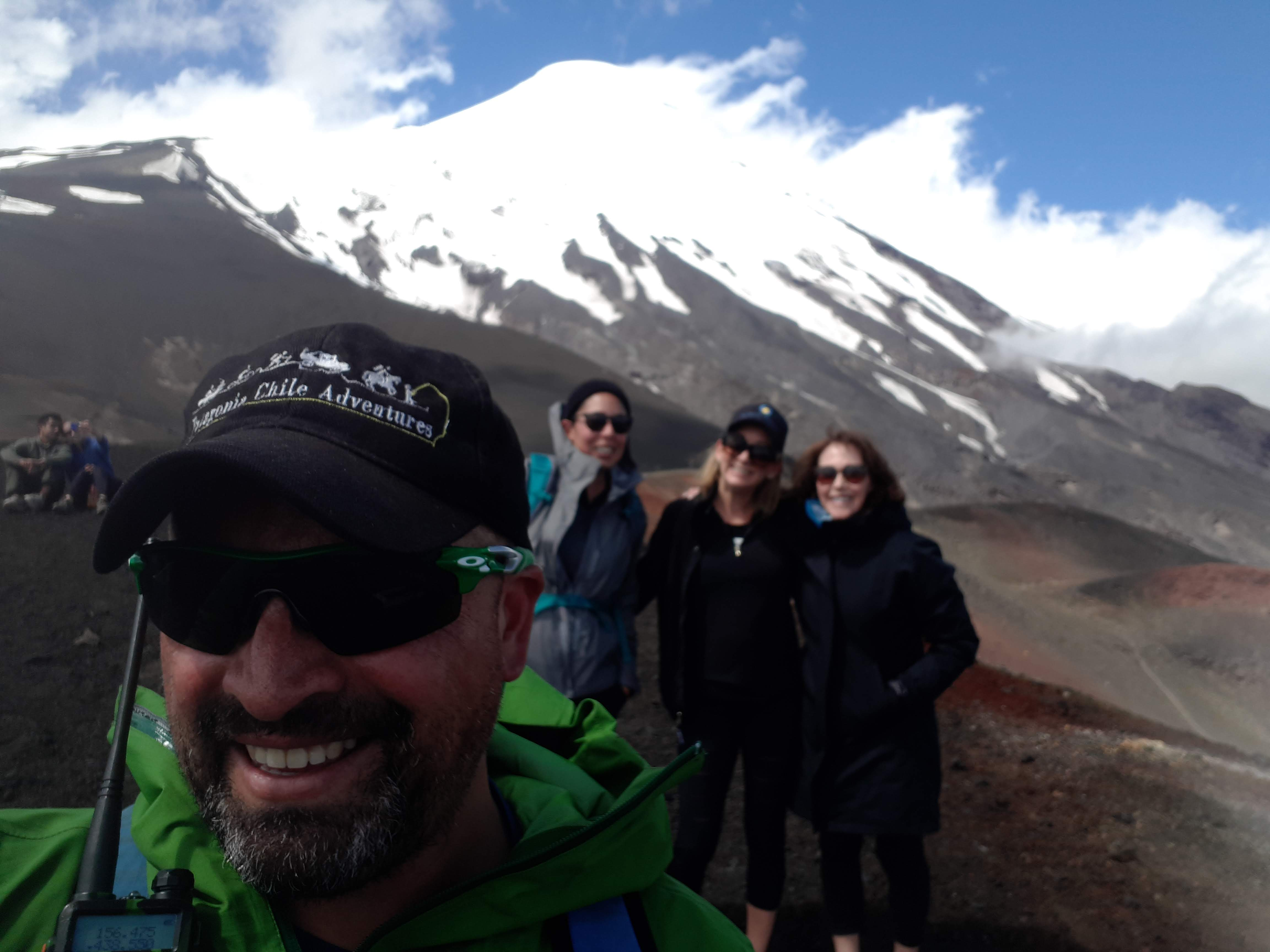 Osorno Volcano hiking